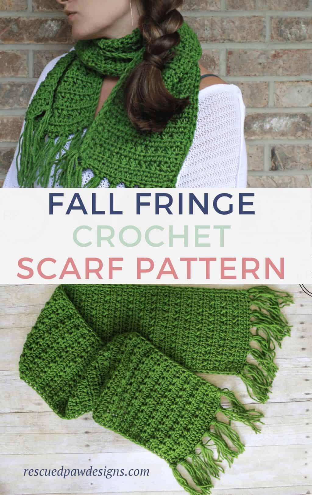Fall Crochet Scarf Pattern