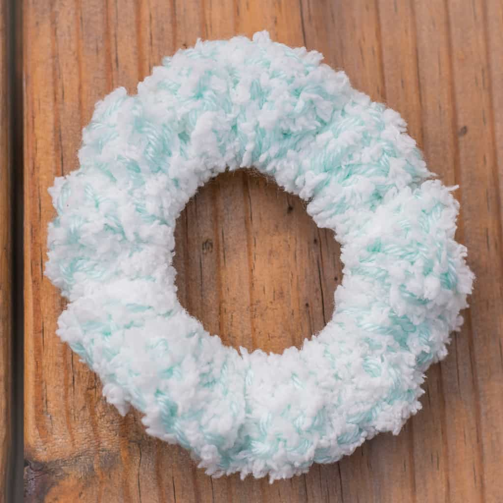 Crochet Hair Tie Scrunchie Pattern