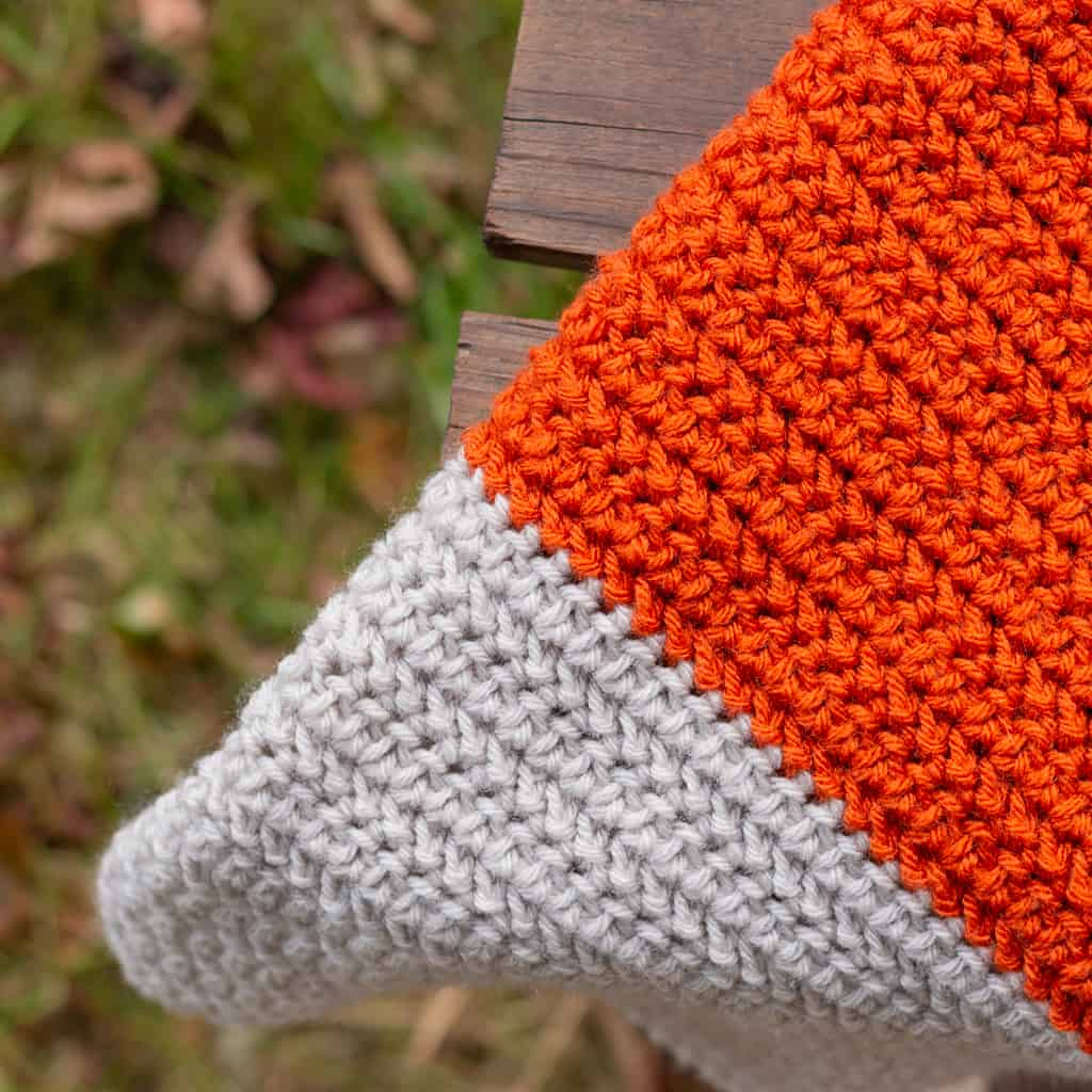 HHDC Blanket Crochet Tutorial