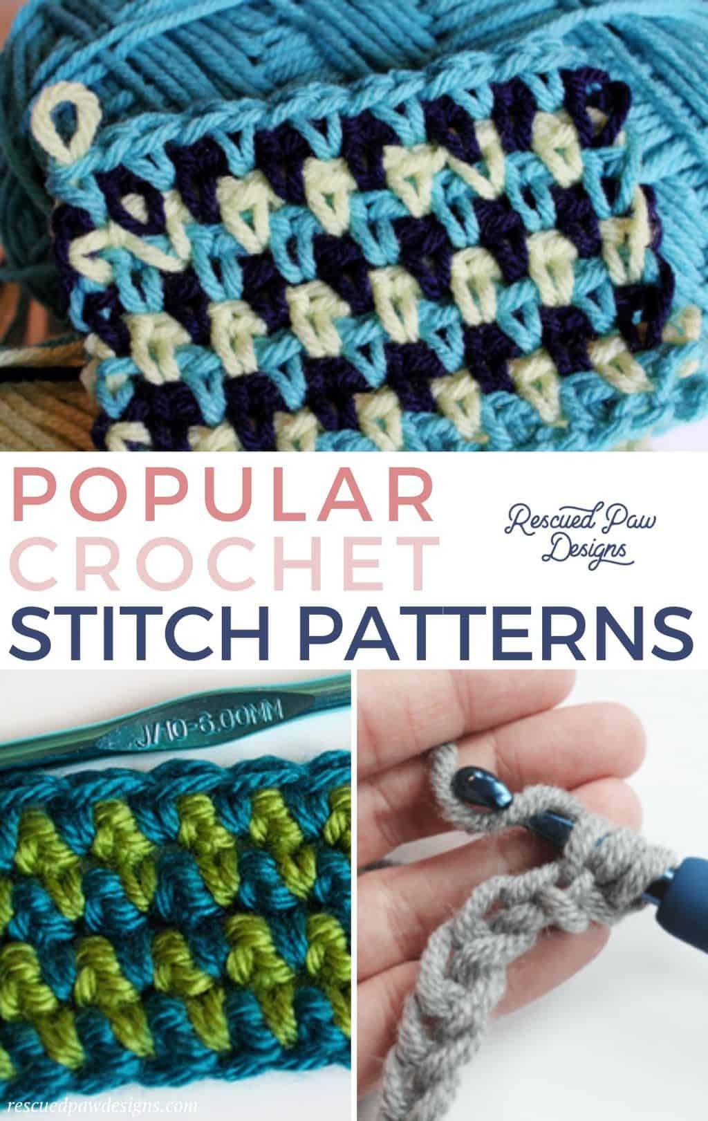 Different Crochet Stitches