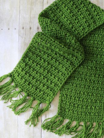 fall crochet scarf pattern