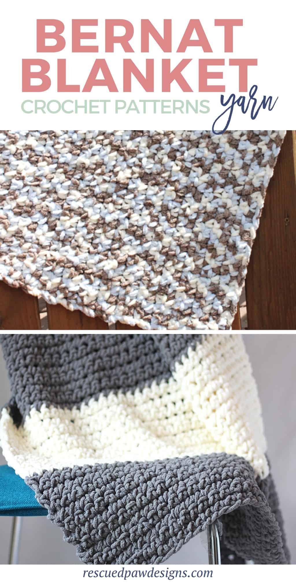 Bernat Yarn Blanket Patterns