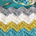 Chevron Bernat Blanket Yarn Pattern