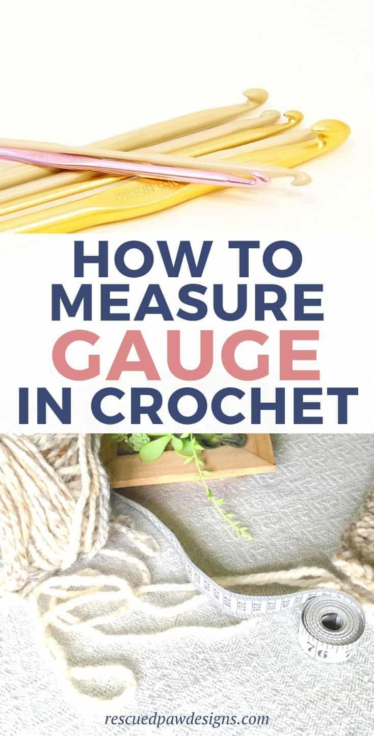 How to Measure Gauge in Crochet