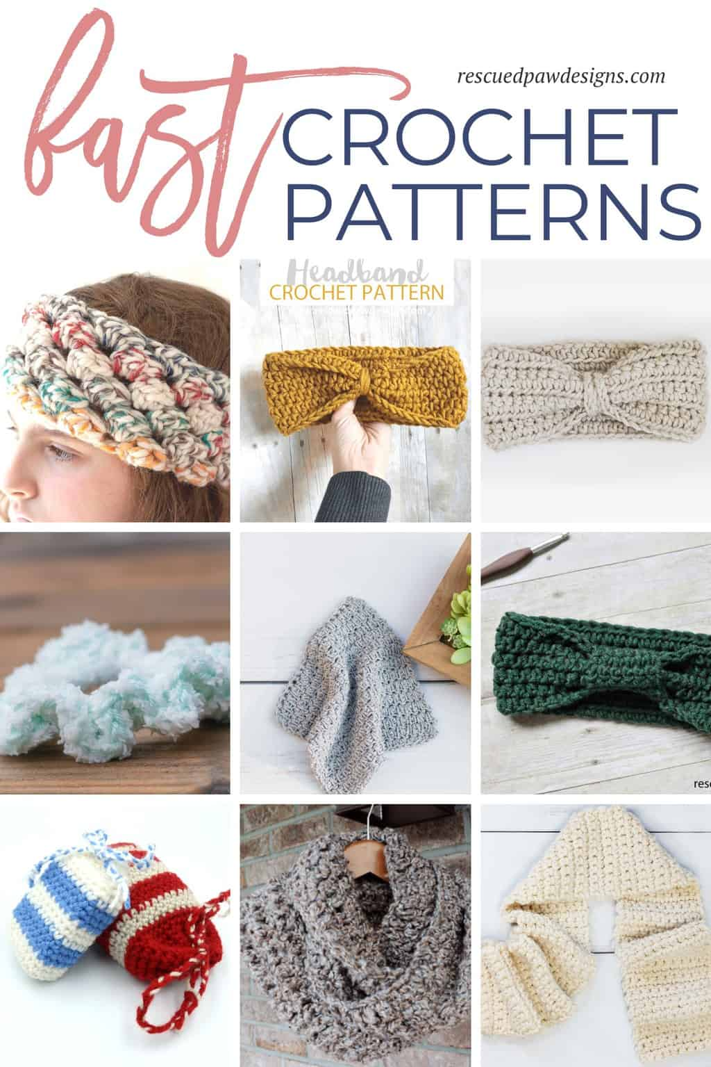 Fast and Free Crochet Patterns