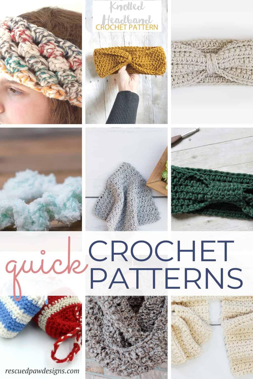 Fast Crochet Projects