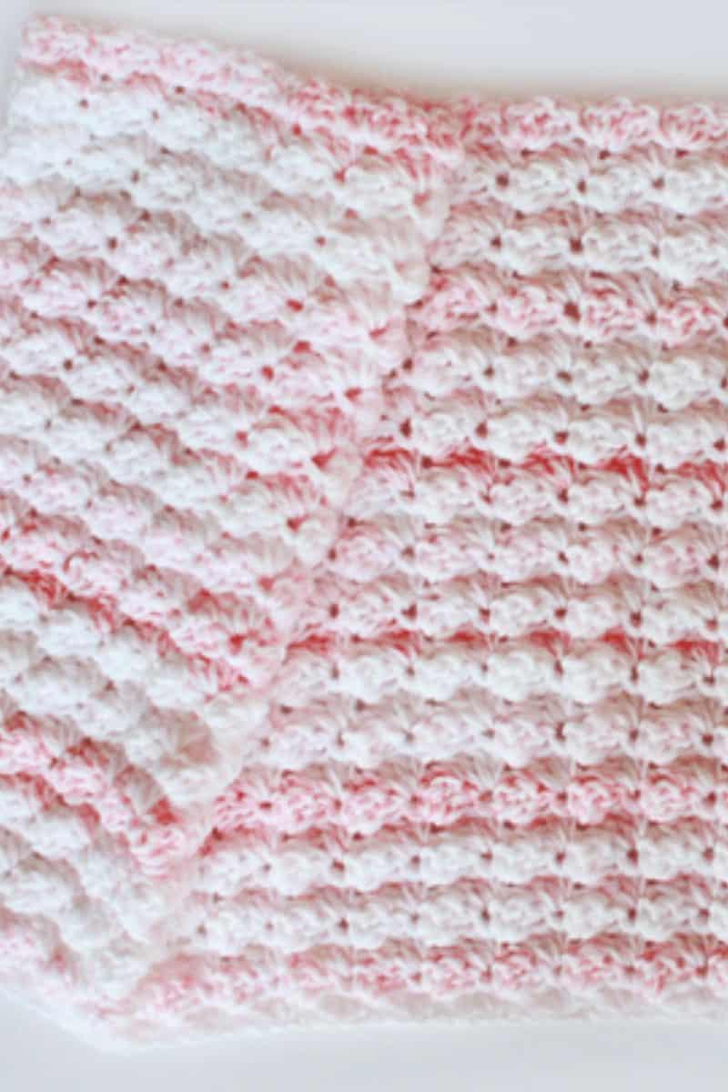 Blanket Stitch Baby Blanket