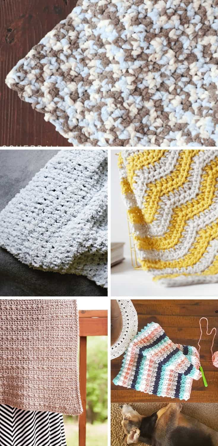 Free Crochet Baby Blanket Patterns from Easy Crochet