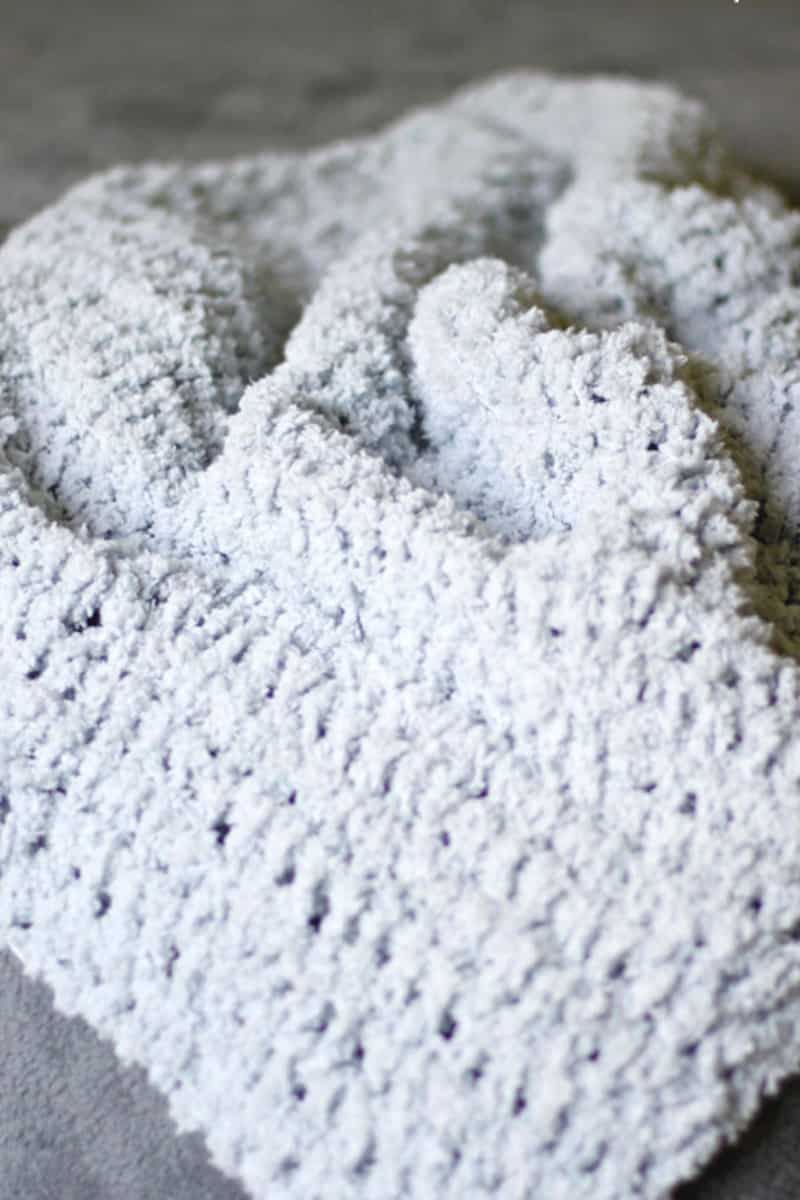 Cozy Crochet Baby Blanket