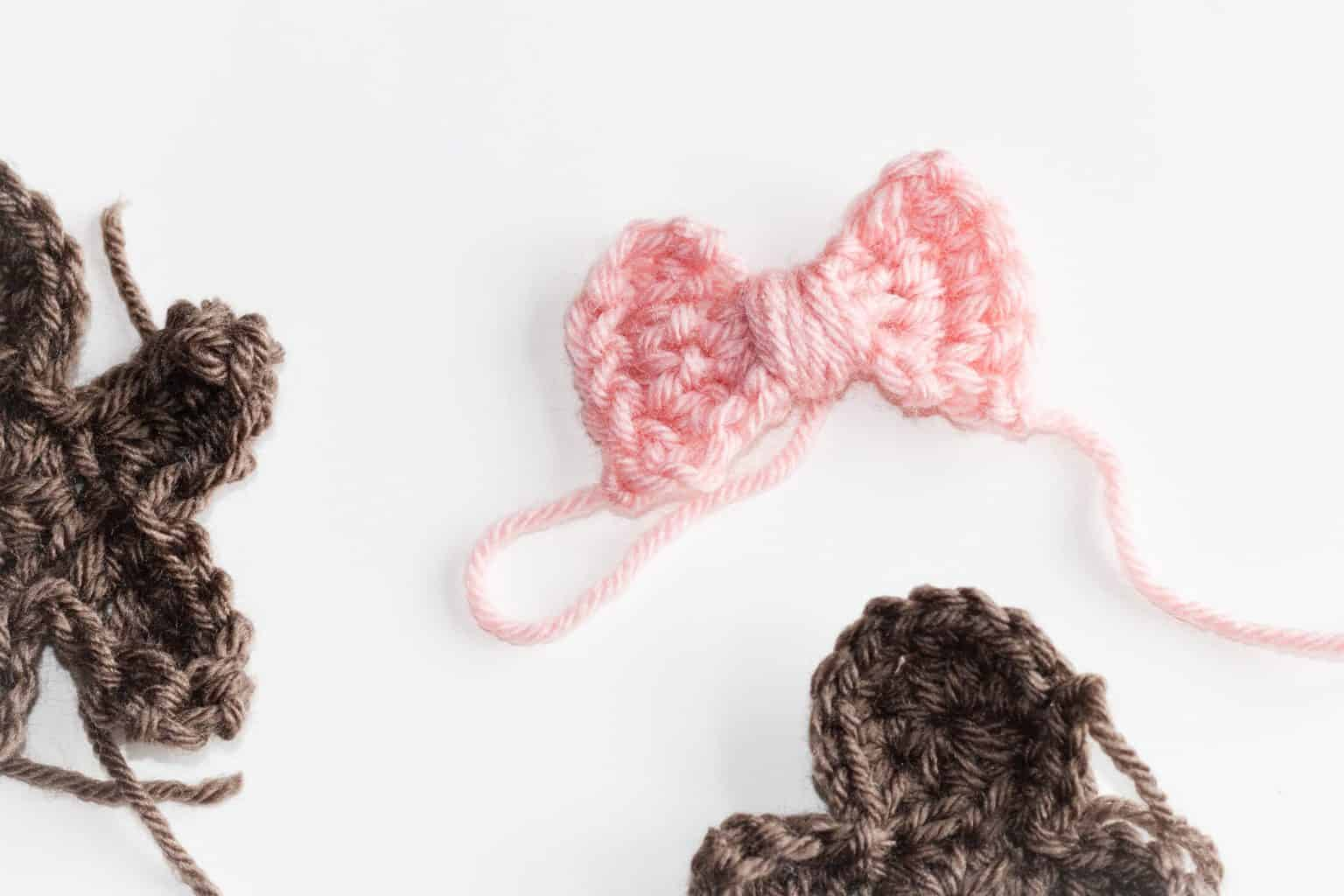 Mini Crochet Bow
