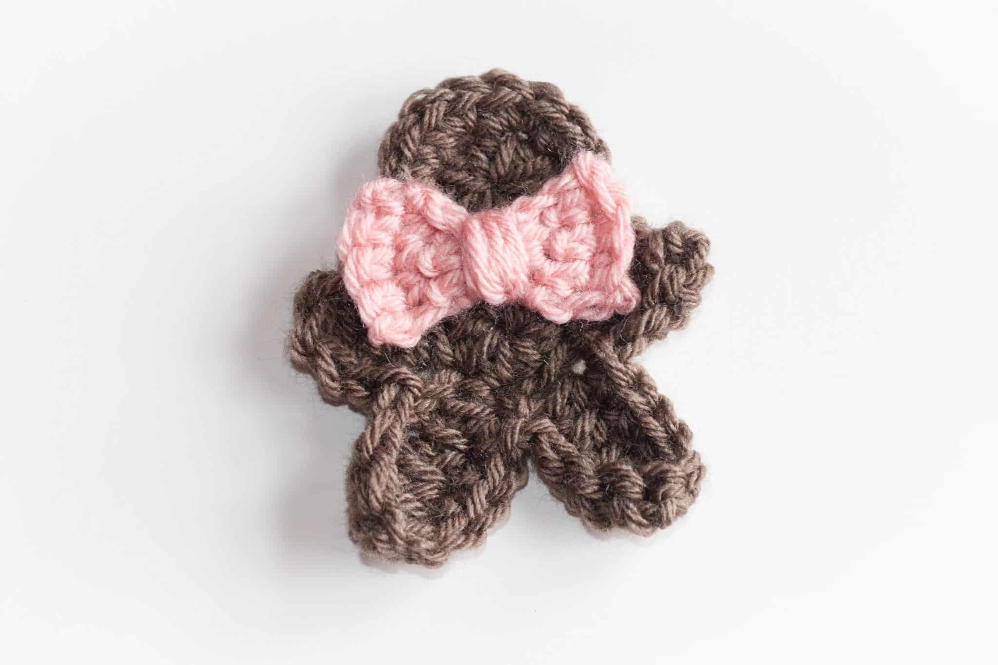 Gingerbread Crochet Man Pattern
