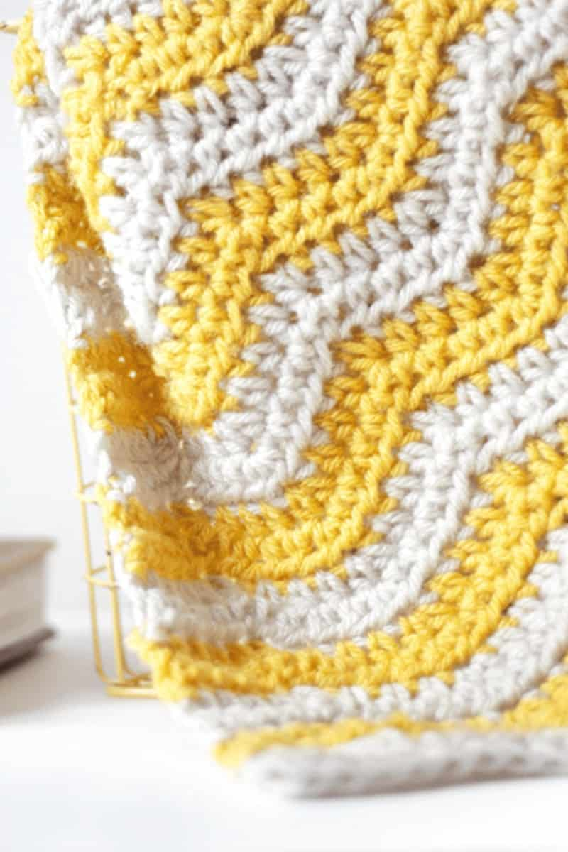 Pebbles /& Ripples Afghan crochet PATTERN INSTRUCTIONS