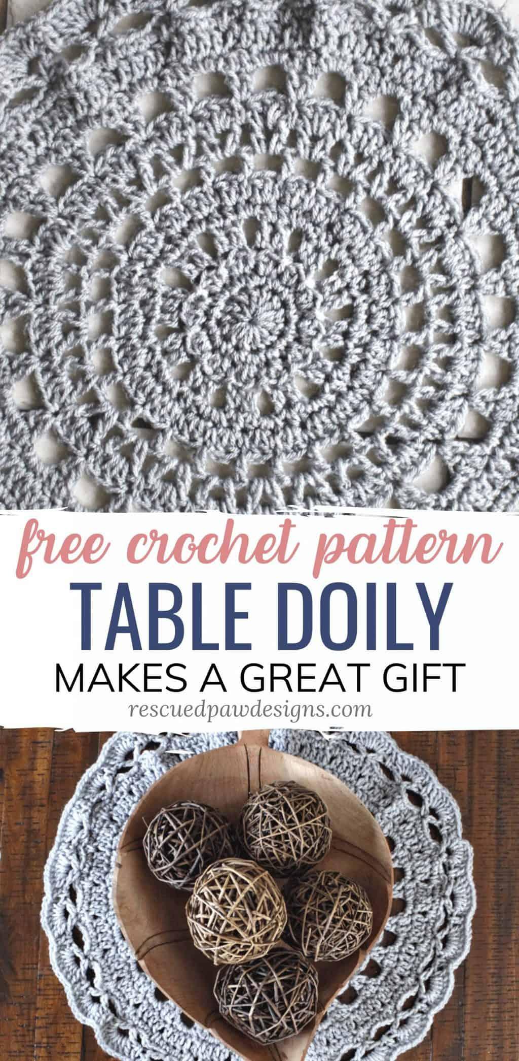Crochet Doily Pattern - Table Top