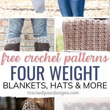 Four Weight Yarn Crochet Patterns