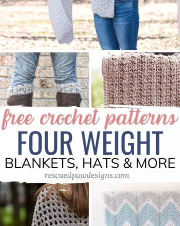 Four Weight Yarn Crochet Patterns