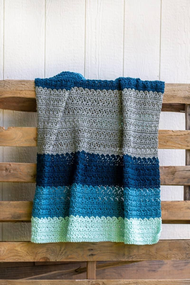 beginner crochet baby blanket pattern