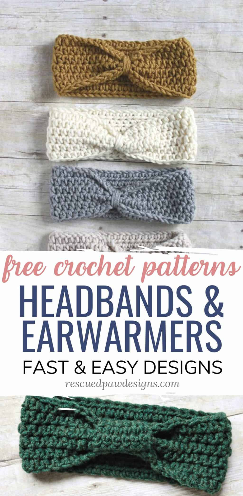 Crochet Headband Ear Warmer Patterns
