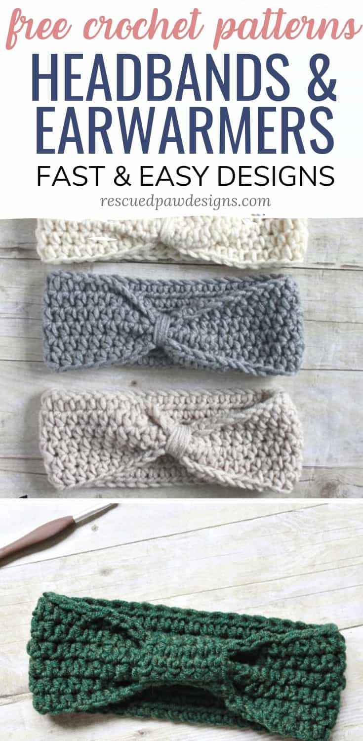 Simple Crochet Ear Warmer Patterns