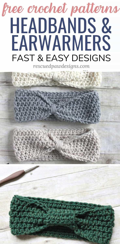 Simple Crochet Ear Warmer Patterns