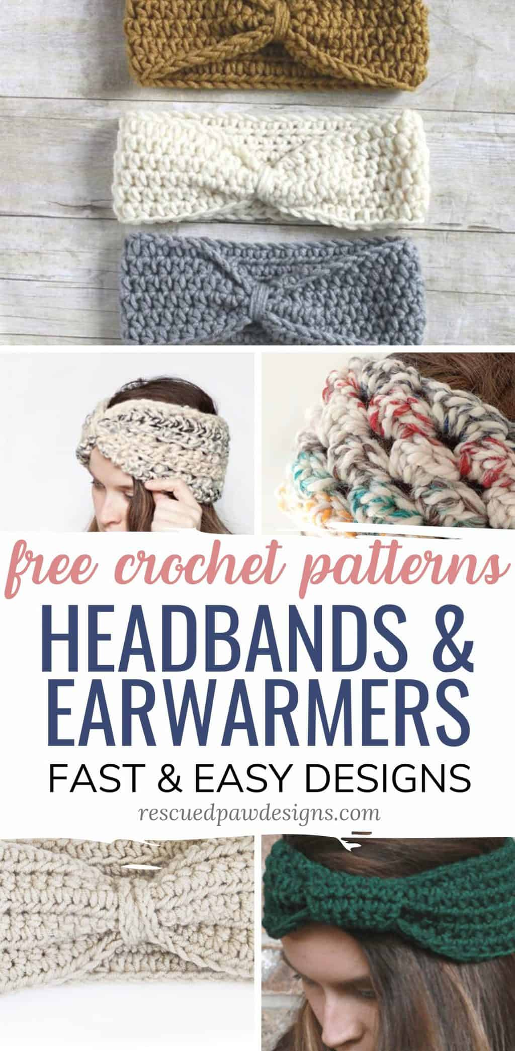 Ear Warmer Headband Crochet Patterns Free