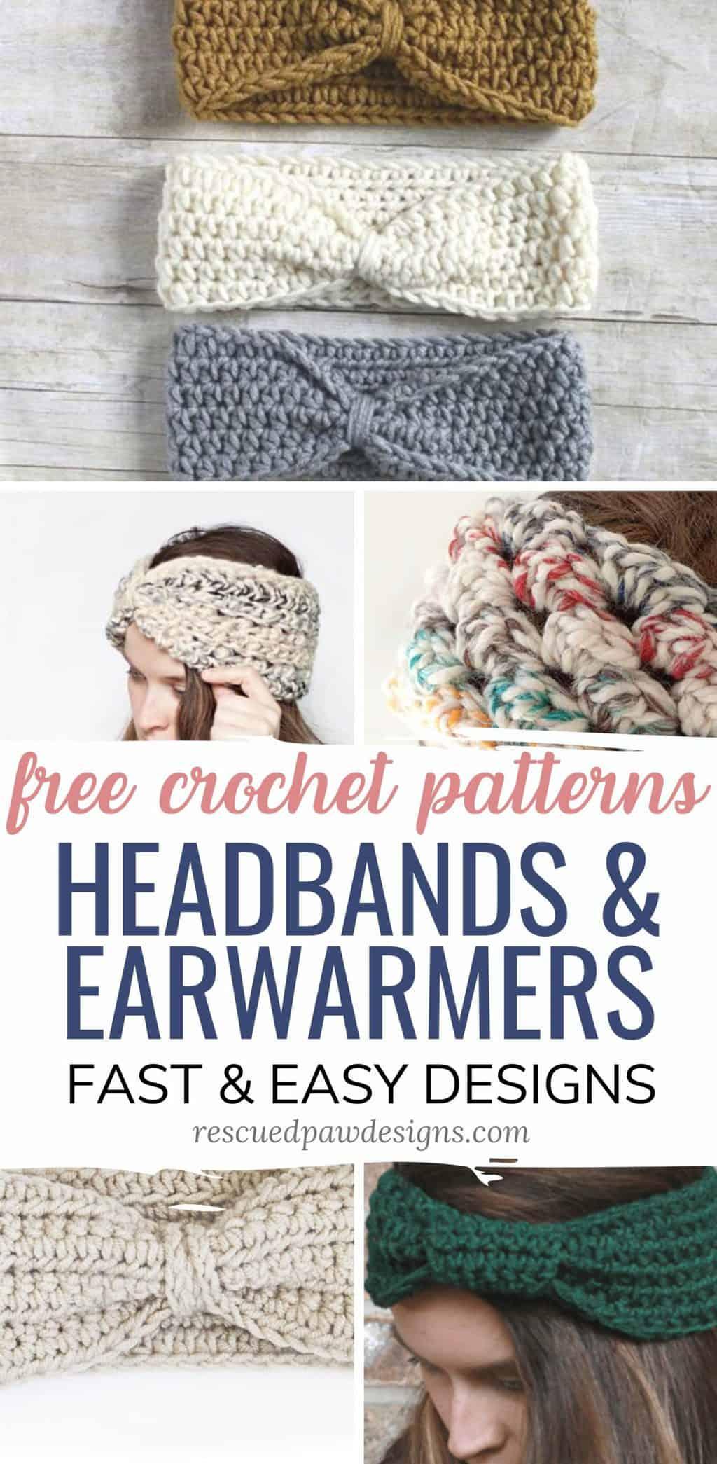 Ear Warmer Headband Crochet Patterns Free