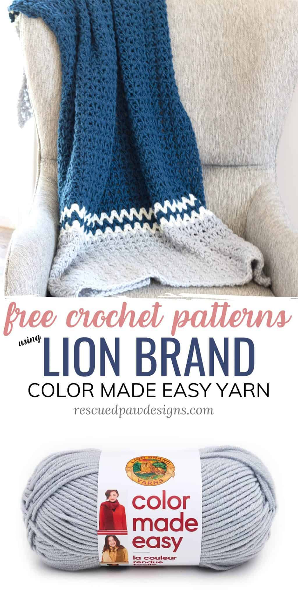 Color Made Easy Yarn Patterns to Crochet from Lion Brand