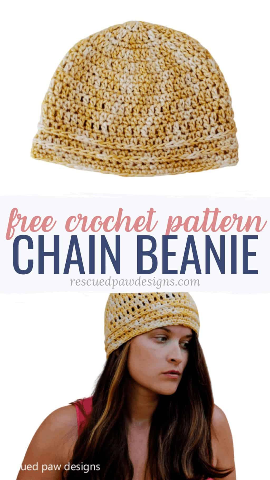 crochet beanie pattern free