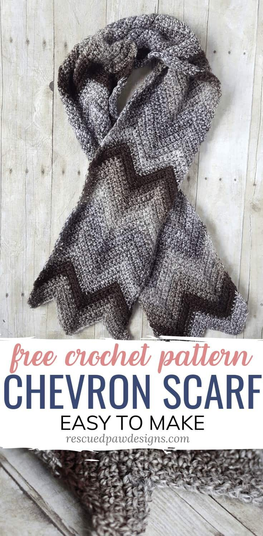 Chevron Scarf Crochet Pattern