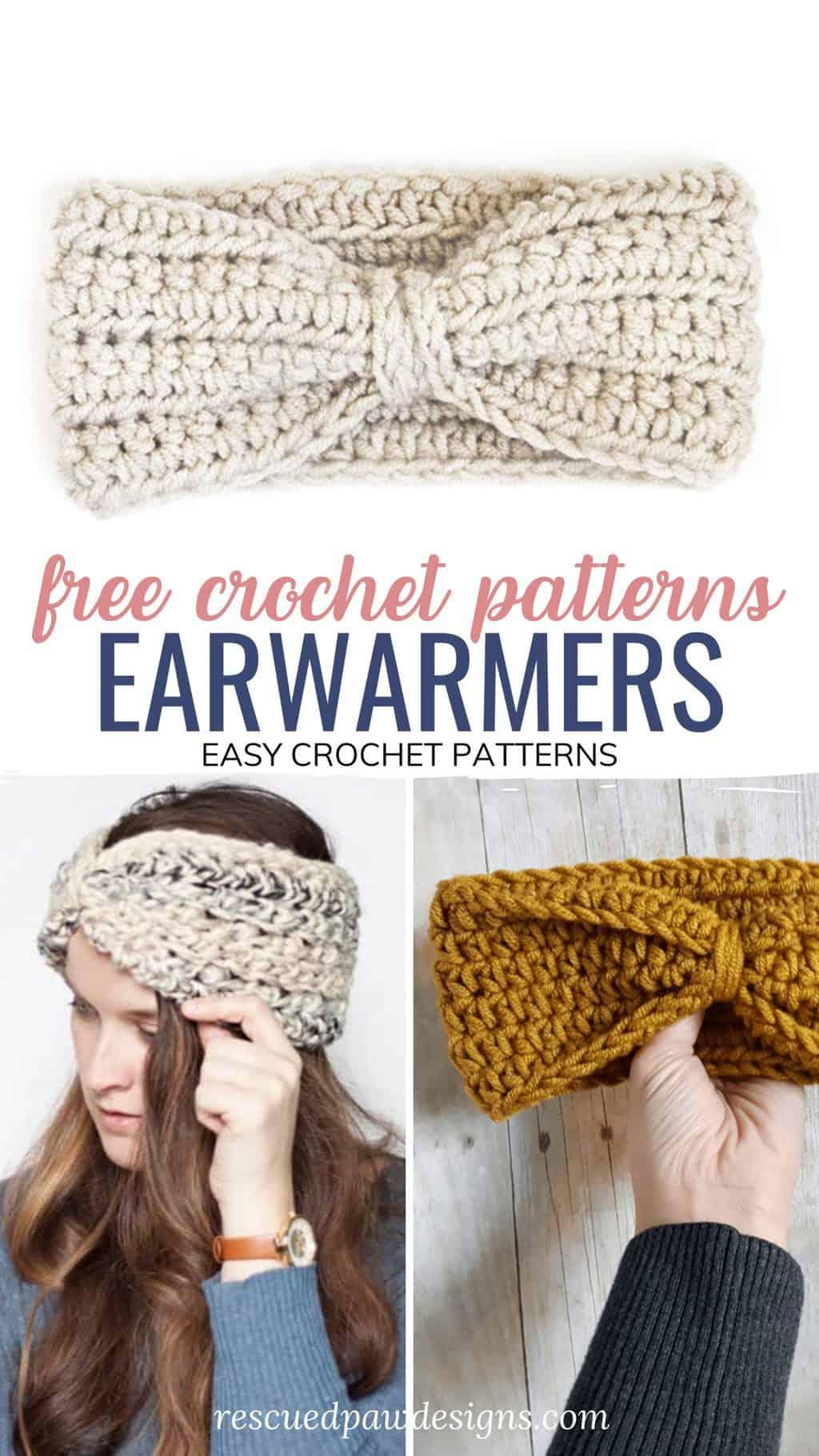 easy crochet ear warmers for beginners