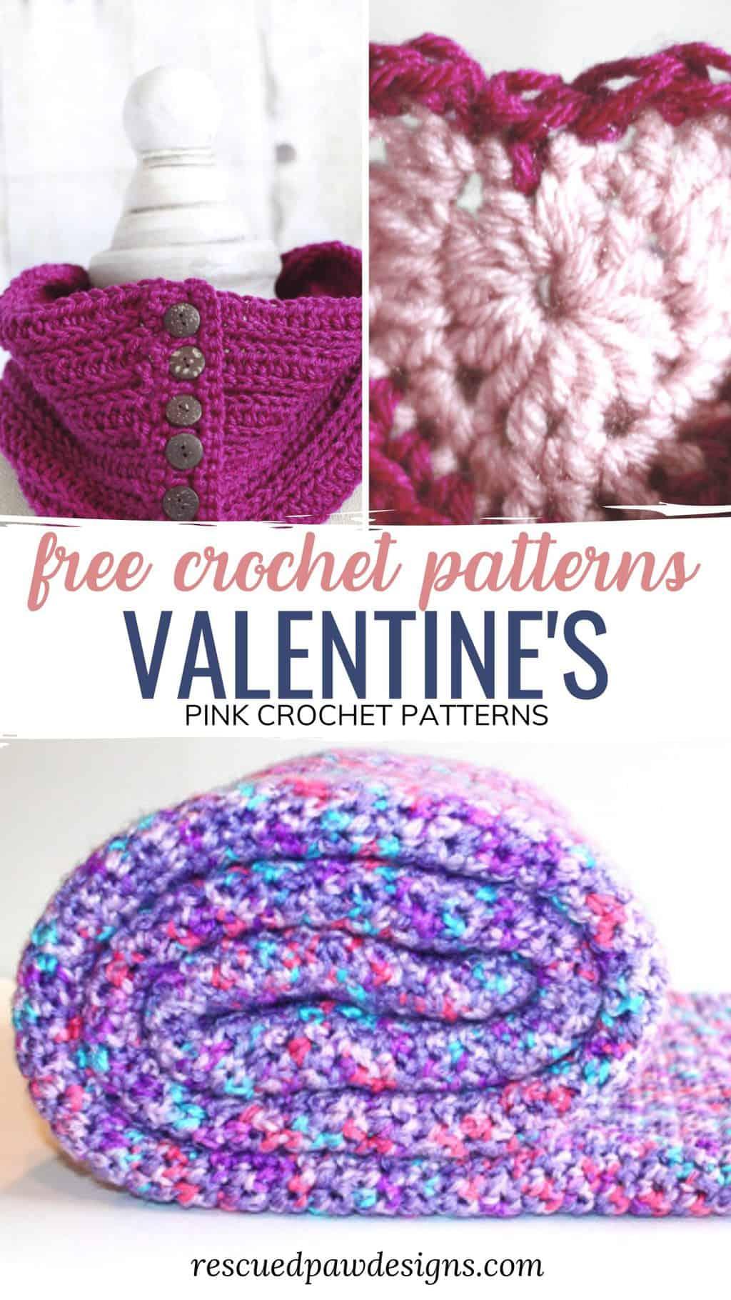 Valentine's Day Crochet Patterns
