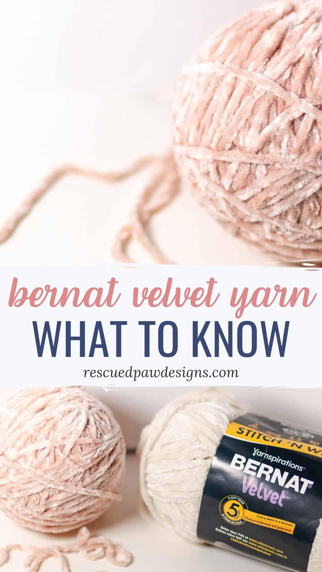 Velvet Yarn Bernat