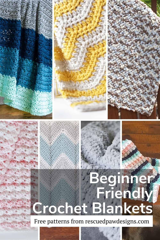 Beginner Friendly Crochet Blanket Patterns