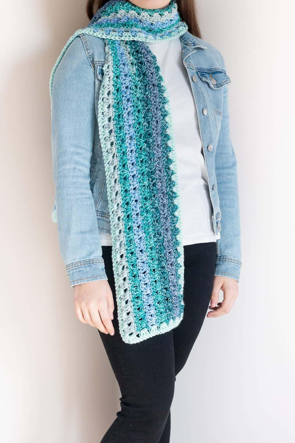Ombre Crochet Scarf Pattern