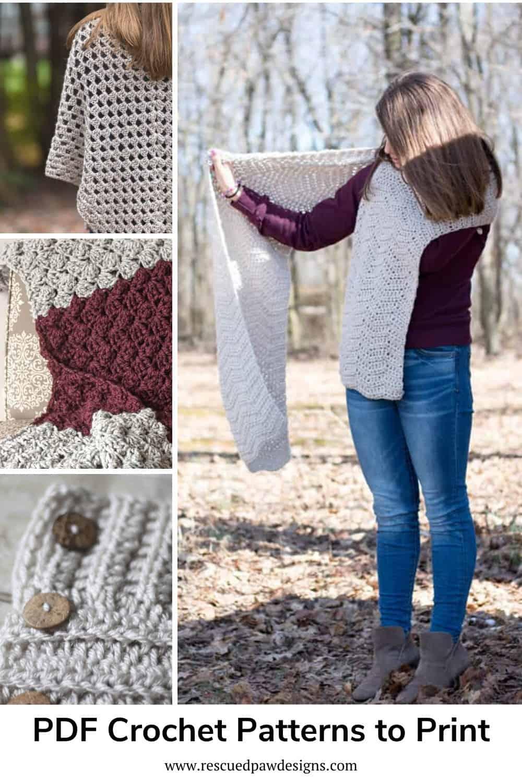 PDF Crochet Patterns to Print