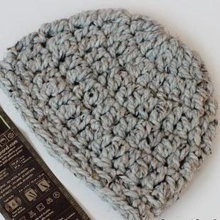 Beginner Chunky Crochet Beanie