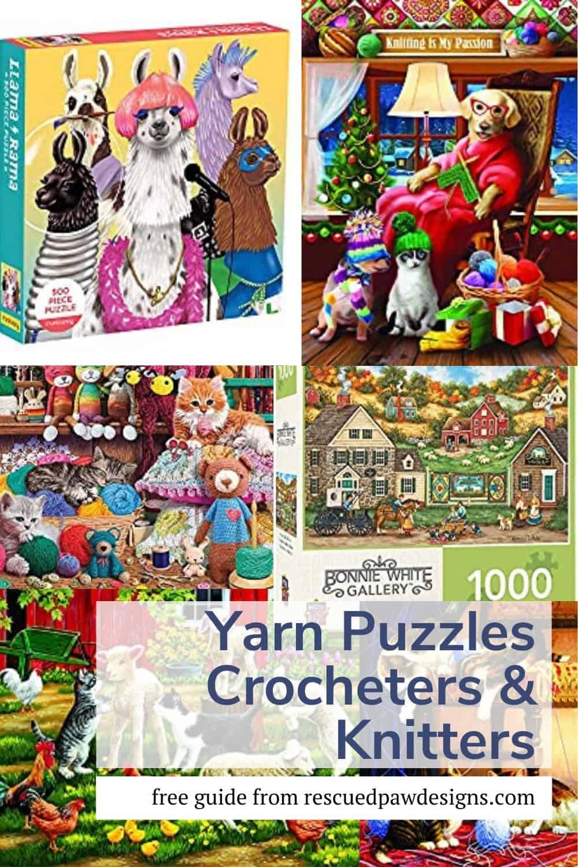 Crochet & Knit Jigsaw Puzzles
