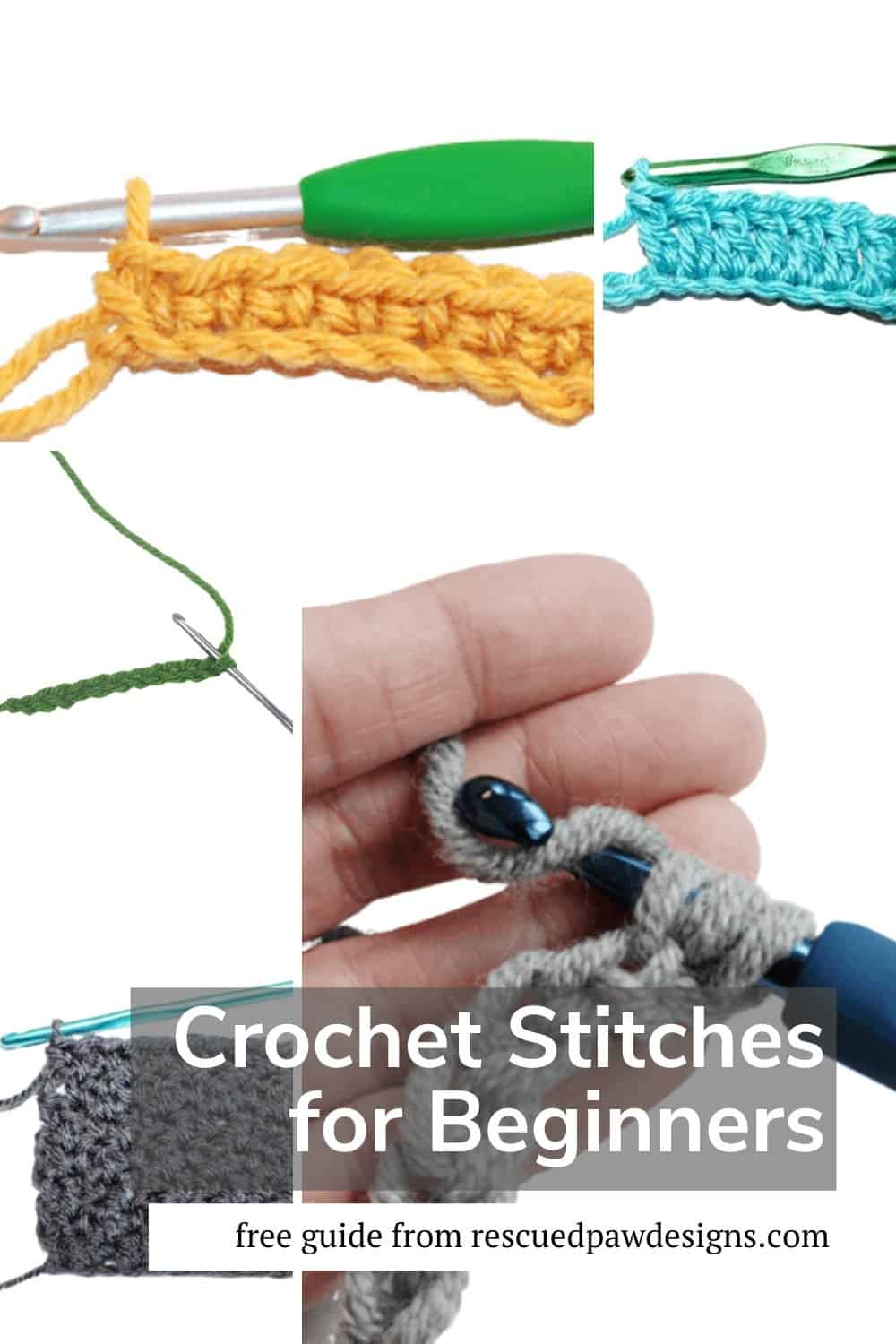 Basic Crochet Stitches for Beginners