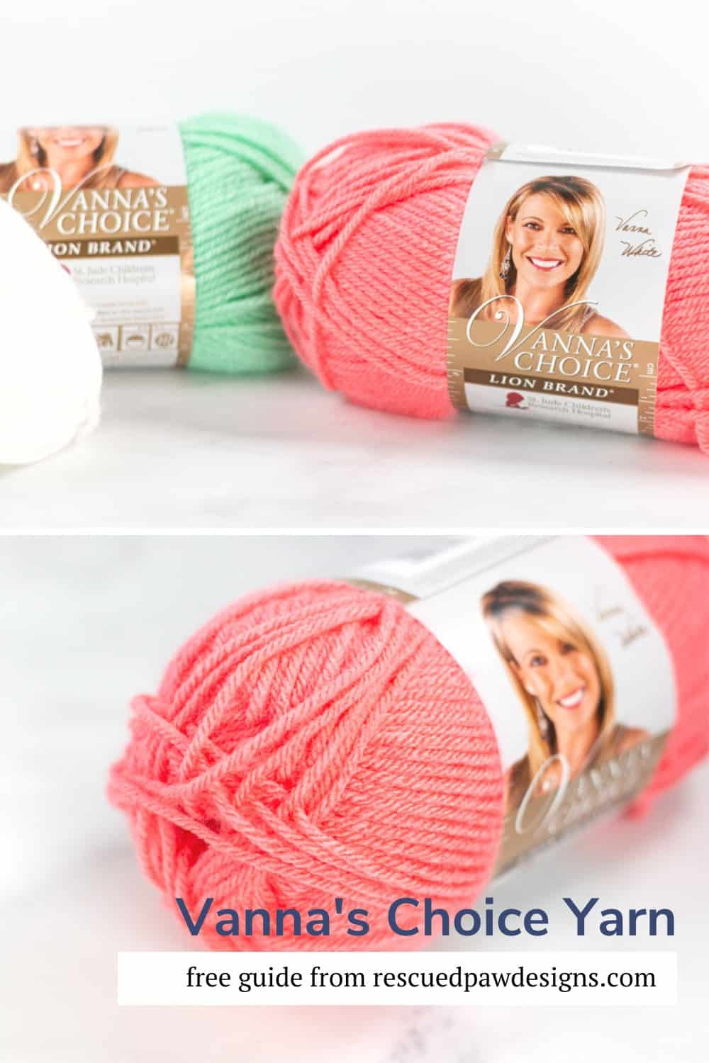 Lion Brand Vanna's Choice Yarn Guide