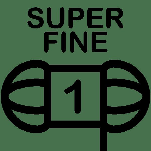 Weight 1 - Super Fine Weight Icon