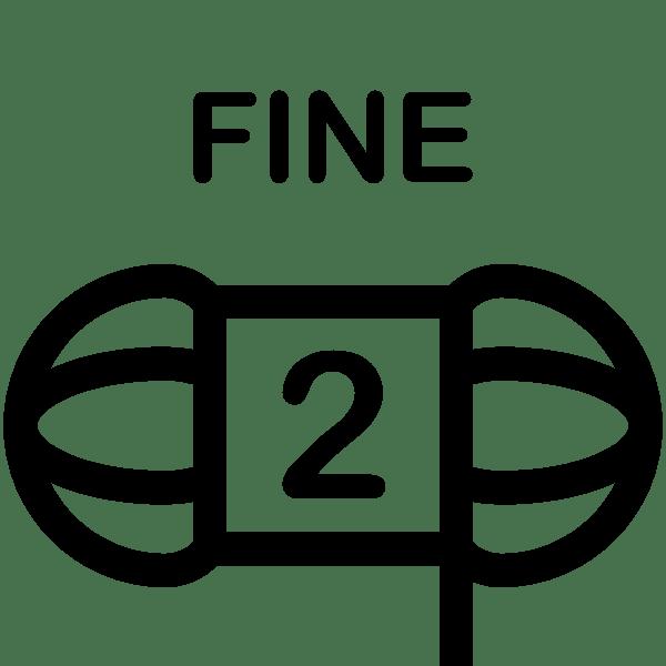 Weight 2 - Fine Weight Icon