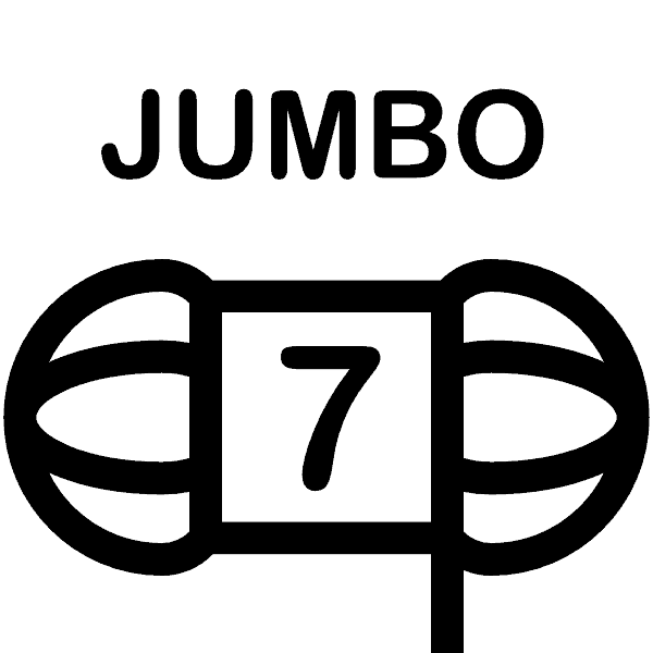 Weight 7 - Jumbo Weight Icon