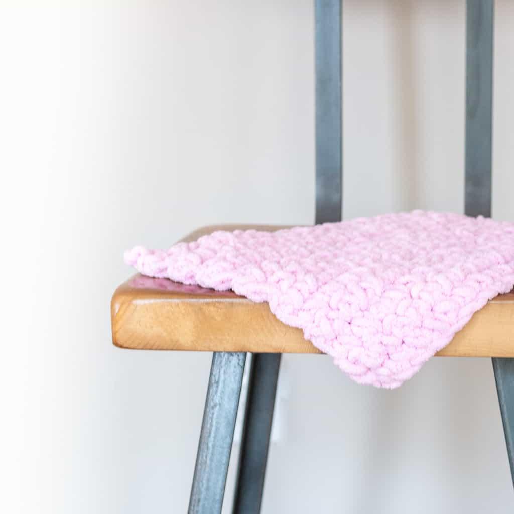 Bernat Blanket Yarn Baby Blanket Pattern