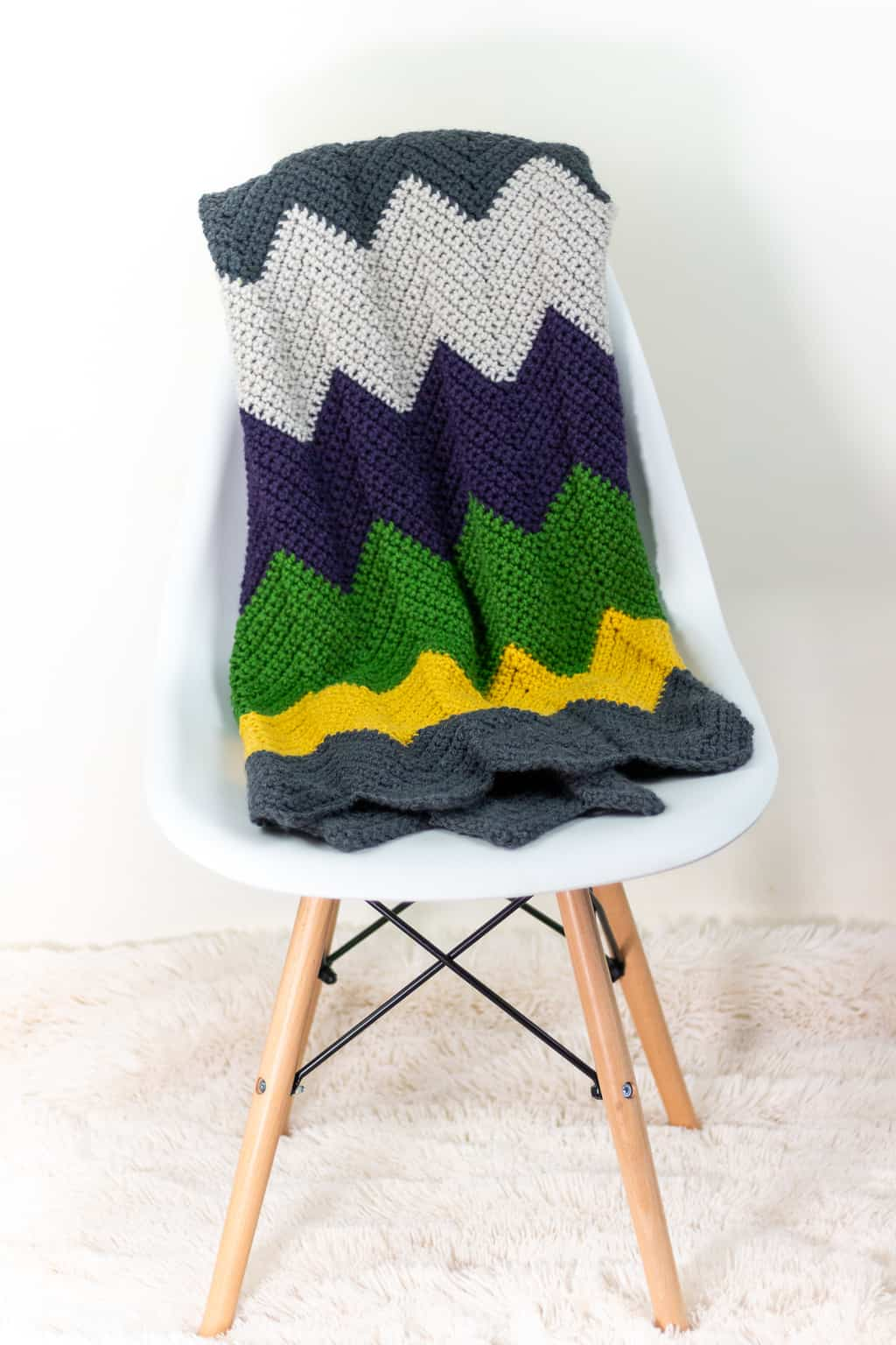 Chevron Crochet Afghan Pattern