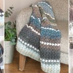 easy crochet lap blanket