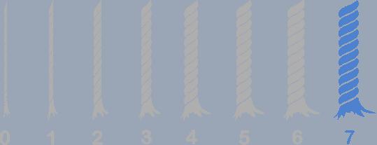 Weight 7 - Jumbo Yarn Weight Chart