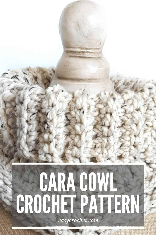 Cara Cowl Crochet Pattern Easy Crochet
