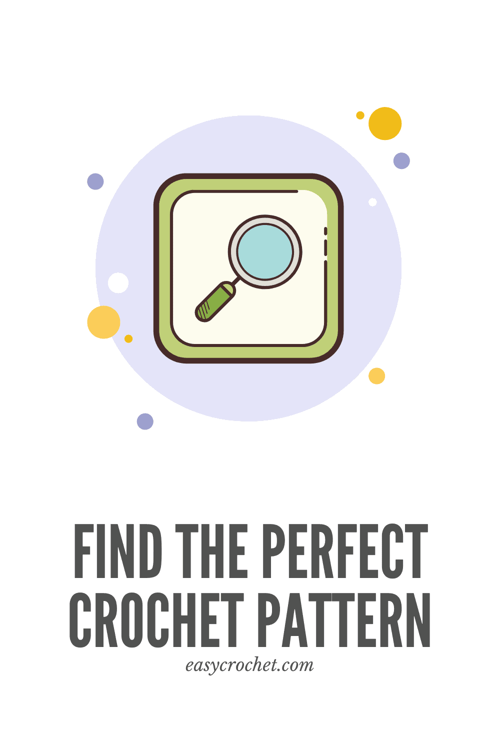 Find the perfect crochet pattern for you! Search from color, hook size, yarn brand and more! Available from Easy Crochet. via @easycrochetcom