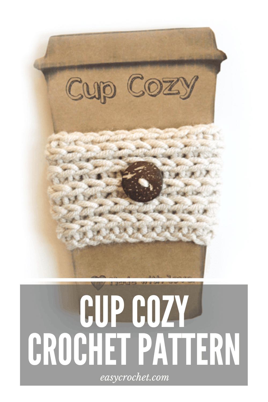 Crochet Coffee Cozy Pattern Easycrochet Com
