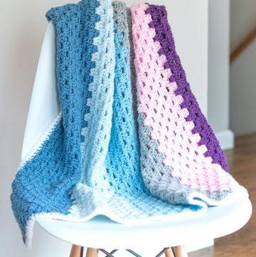 granny baby blanket pattern