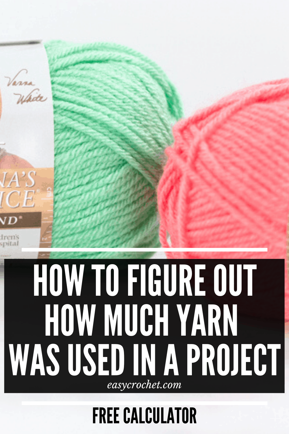 Calculator to figure out the total yardage in a crochet or knit pattern.